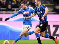 Ruiz cracker gives Napoli 1-0 Cup win at Inter