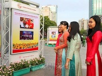 Exhibition celebrates founding anniversary of Vietnamese Communist Party