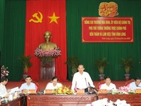 Vinh Long province urged to accelerate administrative reform