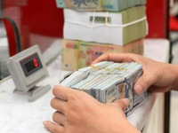 Reference exchange rate up 5 VND on February 6