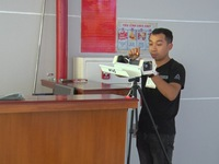 Remote temperature scanner installed at Phu Quoc airport