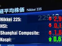Thị trường chứng khoán châu Á giảm điểm mạnh do lo ngại COVID-19