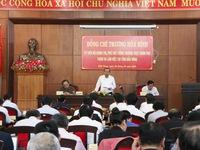 Phó Thủ tướng thường trực Trương Hòa Bình làm việc tại tỉnh Đăk Nông