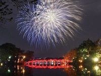 Spectacular fireworks ring in Year of the Rat