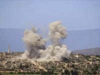 Thổ Nhĩ Kỳ nã đạn pháo vào khu vực Tây Bắc Syria