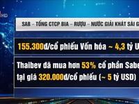 Cổ phiếu Sabeco đang 'ngụp lặn' trên thị trường chứng khoán