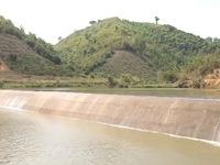 Công trình thủy lợi chống hạn chậm tiến độ
