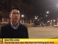 Du học sinh Việt Nam tại các nước đều tin tưởng chính phủ nước sở tại
