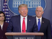 Tổng thống Mỹ ban hành đạo luật hỗ trợ 104 tỷ USD chống dịch bệnh COVID-19