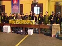 Lạng Sơn bắt vụ vận chuyển 200 kg ma túy tổng hợp