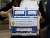 Vietnam's COVID-19 test kits meet European standards