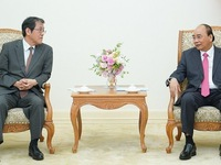 Japanese ambassador bids farewell to Vietnamese PM