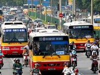 Hà Nội giảm 80#phantram chuyến xe bus