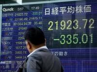 Chứng khoán châu Á đồng loạt giảm điểm mạnh