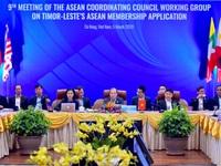 Cuộc họp lần thứ 9 Nhóm công tác Hội đồng Điều phối ASEAN về vấn đề Timor-Leste xin gia nhập ASEAN