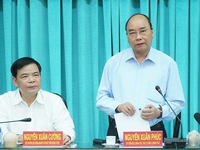 PM requests sufficient water supply in drought-hit Mekong Delta