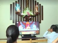 Thánh lễ Phục sinh trực tuyến góp phần phòng chống dịch COVID-19