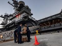Mỹ: Dịch COVID-19 tại tàu sân bay không liên quan đến Việt Nam
