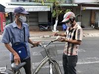 Hỗ trợ người bán vé số tại Bạc Liêu 50.000 đồng/ngày