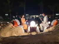 Tình yêu và tham vọng: Hậu trường bữa ăn tối lãng mạn bên bờ biển của Tuệ Lâm và Minh