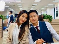 Hậu trường Tình yêu và tham vọng: Diễm My tinh nghịch bắt gián dọa Thanh Sơn