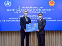 Việt Nam là nước đang đi đầu trong lĩnh vực ngoại giao y tế