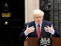 Thủ tướng Anh lần đầu xuất hiện trước công chúng sau gần một tháng điều trị COVID-19