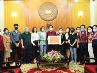 Đoàn làm phim 'Những ngày không quên' ủng hộ 150 triệu đồng cho người nghèo bị ảnh hưởng bởi dịch COVID-19