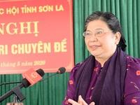 NA Vice Chairwoman meets Son La voters