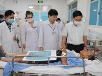 Sức khỏe các nạn nhân trong vụ sập công trình ở Đồng Nai đã ổn định