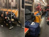 Mỹ: Người vô gia cư sống trong tàu điện ngầm để tránh COVID-19