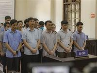 [INFOGRAPHIC] Vụ gian lận điểm thi tại Hòa Bình: 9 bị cáo nhận án tù giam, 6 bị cáo hưởng án treo