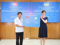 Vietnam supports COVID-19 relief efforts in Ukraine