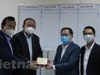 Vietnamese businesses join hands with Cambodia to prevent COVID-19