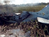 Rơi máy bay quân sự ở Bolivia, 6 người thiệt mạng