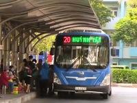 TP.HCM: Ngày đầu xe bus hoạt động trở lại sau thời gian giãn cách xã hội