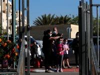 Học sinh Israel quay trở lại trường học