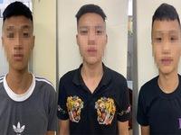 'Khát' tiền chơi điện tử, 3 thanh niên chặn xe người đi đường cướp tài sản
