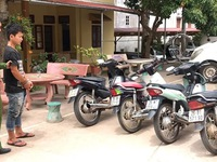 Bắt giữ 'siêu trộm' chuyên ăn cắp xe máy