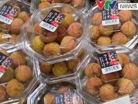 Gần 12.000 đồng cho 1 quả vải thiều Việt tại Nhật