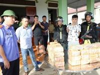 Truy đuổi tội phạm ma túy trong đêm, thu giữ hơn 31kg ma túy đá