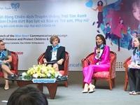 """H""""Hen Niê, Bảo Thanh, Trọng Hiếu ủng hộ chiến dịch bảo vệ phụ nữ và trẻ em"""