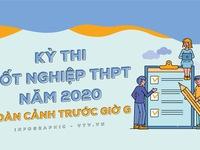 [INFOGRAPHIC] Kỳ thi tốt nghiệp THPT 2020: Toàn cảnh trước giờ G
