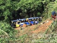 Danh sách 40 người thương vong trong vụ xe khách rơi xuống vực tại Kon Tum