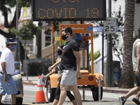 California tái đóng cửa vì COVID-19: 'Đòn chí mạng' cho nỗ lực phục hồi kinh tế Mỹ?