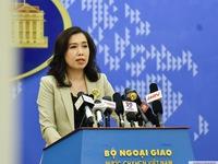 Việt Nam phản ứng trước phát ngôn của Bộ Ngoại giao Trung Quốc và Ngoại trưởng Mỹ về Biển Đông