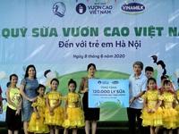 Over 1,300 children in Hanoi benefit from 'Stand Tall Vietnam' Milk Fund
