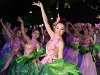 Thousands walk in Hanoi to promote city as green destination