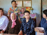 NA Chairwoman visits policy beneficiary families in Ba Ria – Vung Tau