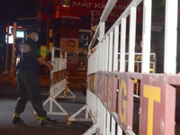 Đà Nẵng lập rào chắn phong tỏa 4 tuyến đường quanh 3 bệnh viện 'tâm dịch'